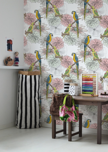 Wallpaper Lovebirds