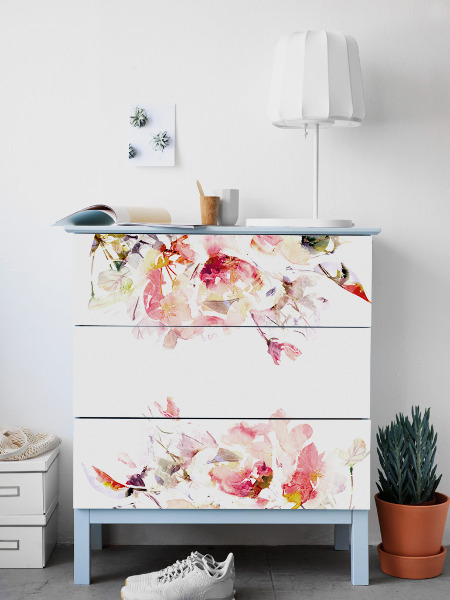 Ikea Malm Decals Spring