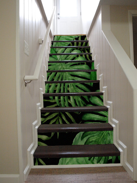 Stair decals Paradise Jungle