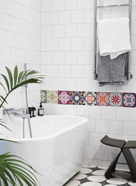 Tile decals Eye-catching Talavera
