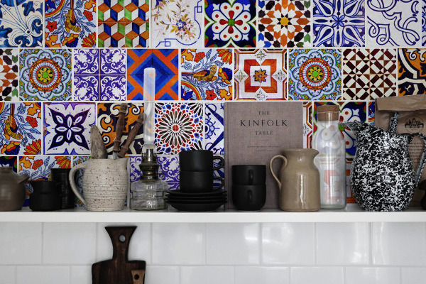 Tile decals Diversity of Azulejos