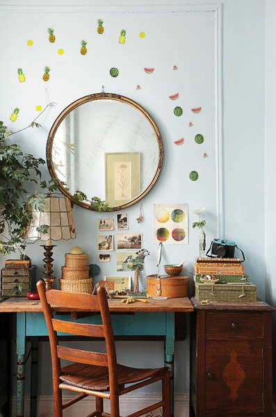 Wall decals Tropical Fruit