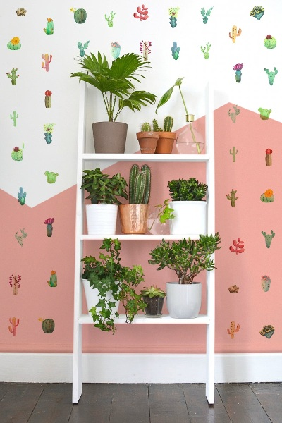 Wall decals Cacti mix