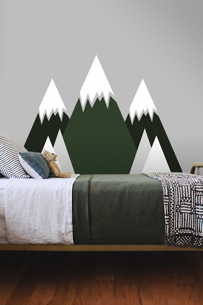 Wall decals Mountains Full of Trees