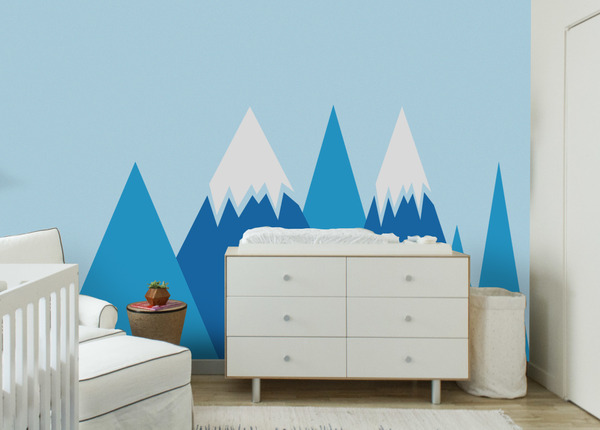 Wall decals Blue Mountains