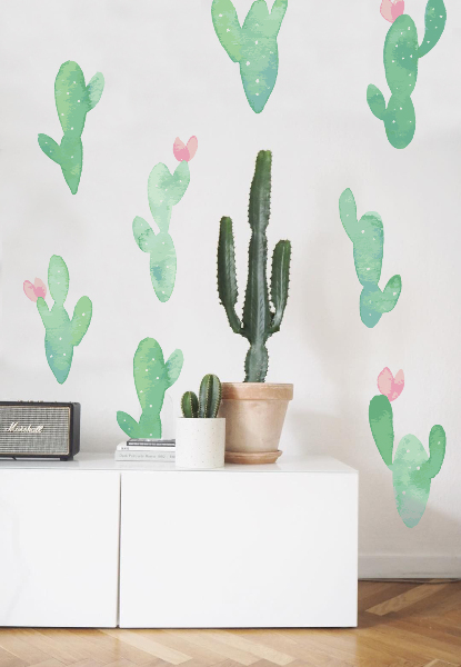 Wall decals Cacti