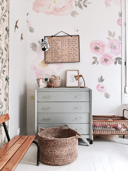 Wall decals Vintage Floral