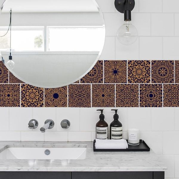 Turkish tile decals