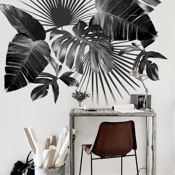 Monstera wall decals