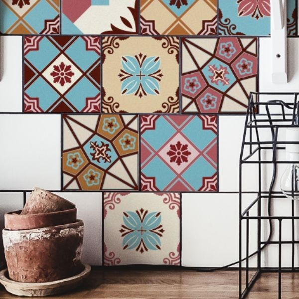 Italian tile decals