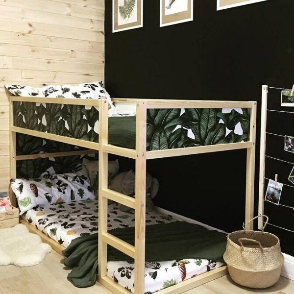 Ikea Kura Bed Furniture Decals Coloraydecor Com